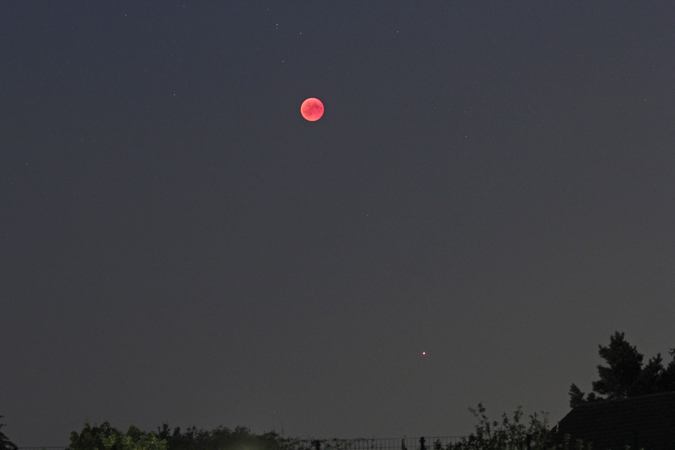 Mondfinsternis, Jul. 2018
